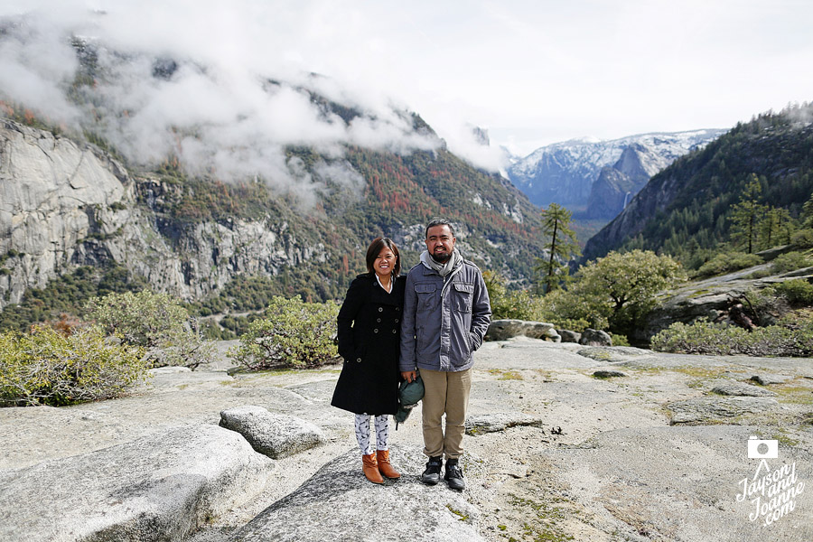 Jayson and Joanne Arquiza loves to travel. This is from Yosemite, California, 2016.