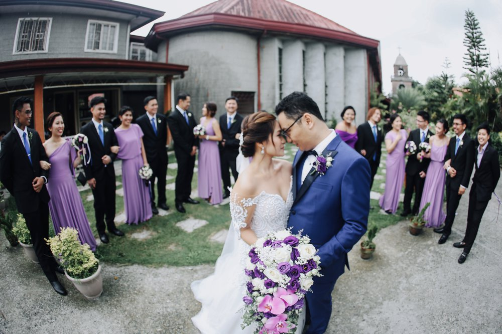 Vincent and Pam Balai Taal San Antonio de Padua Wedding