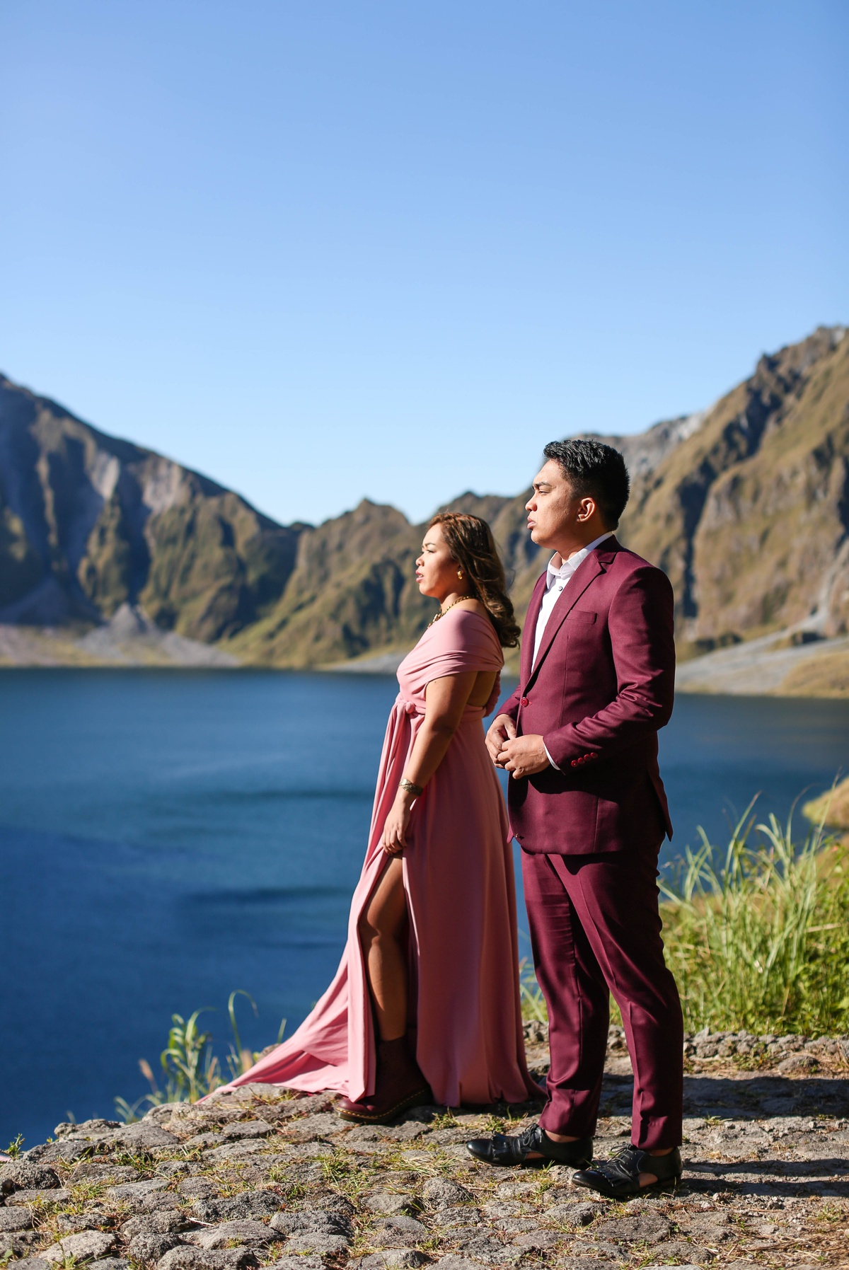 Mount Pinatubo Adventure prenup shoot by Jayson and Joanne Arquiza styling by Merry Me Philippines