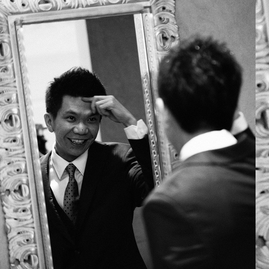 Ken Wong & Janice Layung Singapore Wedding by Jayson & Jo Anne Arquiza in Monochrome Series